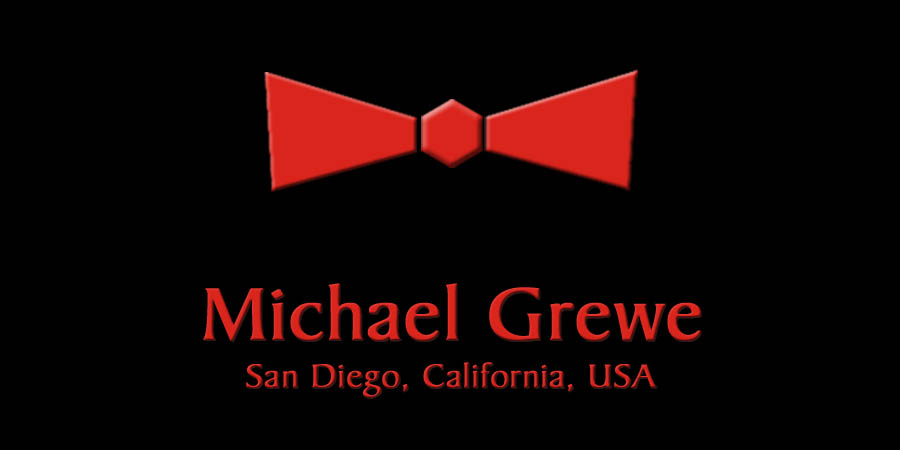 Michael Grewe - San Diego, California, USA - 619-500-3654