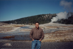 MTG with Old Faithful in background